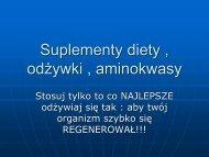 E-suplementy diety