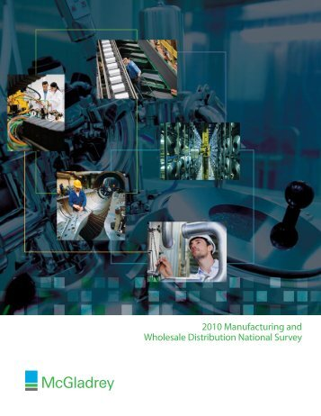 2010 Manufacturing and Wholesale Distribution National Survey
