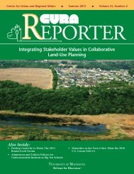 Summer 2011 (Volume 41, No. 2) - Center for Urban and Regional ...