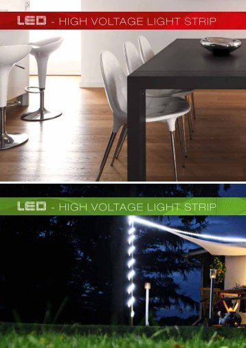 led - high voltage light strip led - Brilliant AG