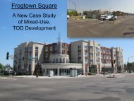 Frogtown Square – A New Case Study of Mixed-Use, TOD ...