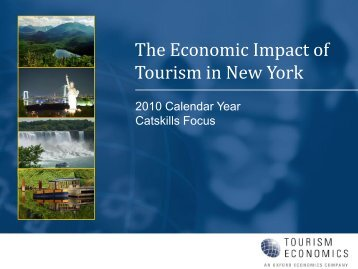 The Economic Impact of Tourism in New York -- Catskills