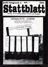 direkt zur PDF-Version Stattblatt Juli / August 1982 - neheims-netz.de