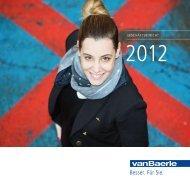 Geschäftsbericht 2012 - vanbaerle.com