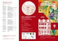 Flyer zu den Veranstaltungen im Sommer zum ... - Ariowitsch-Haus