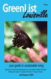 July/August 2009 - GreenList Louisville
