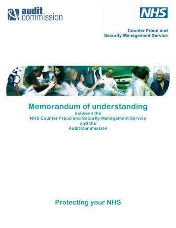 Memorandum of understanding with monitor nhs business memorandum of understanding nhs business services authority spiritdancerdesigns Image collections