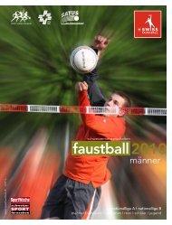 Programmheft Feld 2010 als PDF (9MB) - Swiss Faustball