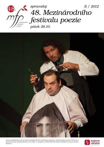 Zpravodaj II/2012 - Kulturní zařízení