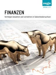 regjo Südostniedersachsen - Heft 6 - 2014 - Sonderbeilage - Finanzen