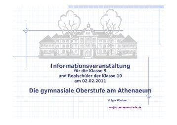 Klasse 10 - Athenaeum Stade