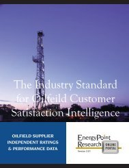 Research Products & Services - EnergyPoint Research