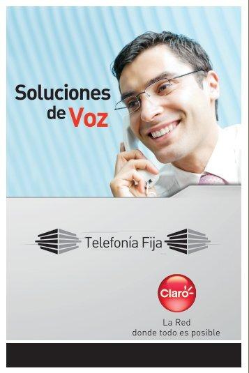 CLARO Brochure Tel fija