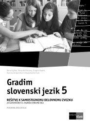 (posodobljena izdaja 2010) -rešitve samostojnega delovnega zvezka
