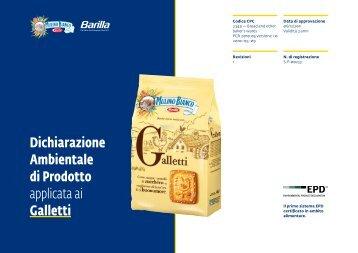 Dichiarazione Ambientale di Prodotto applicata ai Galletti