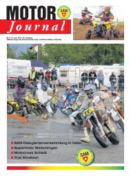 Motor Journal Nr. 05 / 2012 hier herunterladen (PDF, 8292kB) - SAM