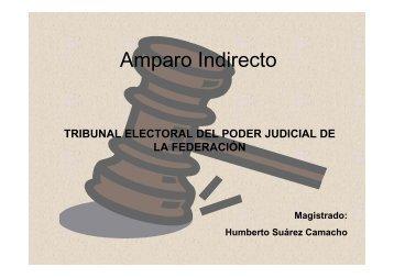Amparo Indirecto - Tribunal Electoral del Poder Judicial de la ...