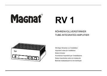 RV 1 - Magnat