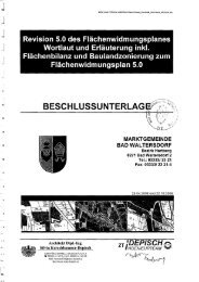 Wortlaut zum Flächenwidmungsplan - Gemeinde Bad Waltersdorf