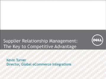 Supplier Relationship Management - Summit