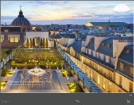 Welcome to Mandarin Oriental, Paris