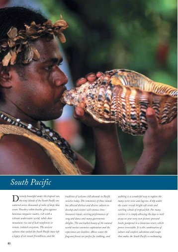 Air New Zealand in the South Pacific - Audley Travel