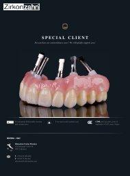 special client - Zirkonzahn