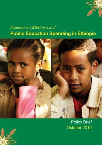 Adequacy and Effectiveness of Public Education Spending in ... - MOE