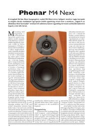 Phonar M4 Next - Audiocentrum