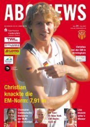 Christian knackte die EM-Norm: 7,91 m - ABC Ludwigshafen