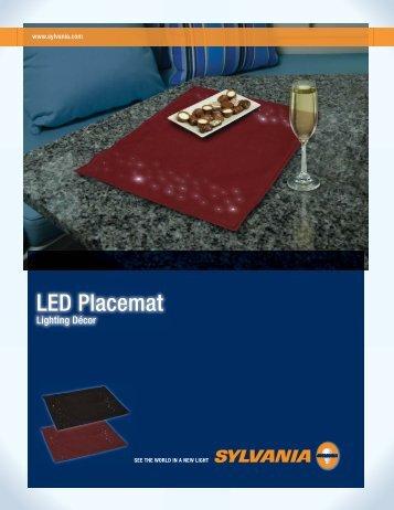 LED Placemat - Osram Sylvania