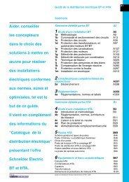 Guide de la distribution électrique - e-Catalogue - Schneider Electric