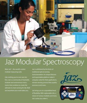 Jaz Modular Spectroscopy - Ocean Optics