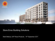 Stora Enso Building Solutions - The Building Centre
