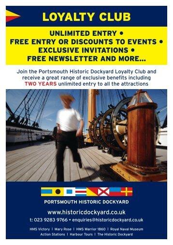 LOYALTY CLUB - Portsmouth Historic Dockyard