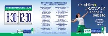 consulta il calendario - BCC Vignole