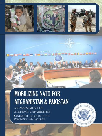 Mobilizing NATO for Afghanistan and Pakistan: An Assessment of ...