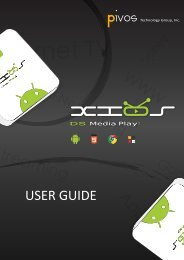 Enjoy TV Box user manual