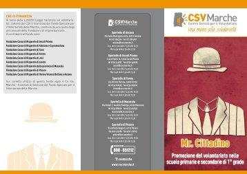 Mr. CITTADINO - CSV Marche