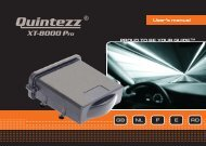 XT-8000 Pro manual GB - Quintezz