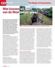 Lees het hele artikel - Geonet
