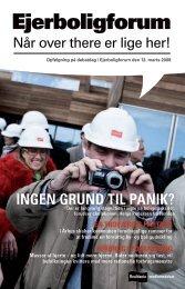 Ejerboligforum 12-03-08 (PDF) - Realdania Debat
