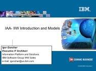 IAA- IIW Introduction and Models - IBM