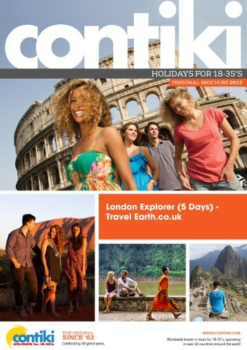 London Explorer (5 Days) - Travel Earth.co.uk