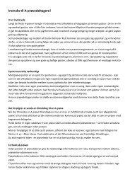Instruks til A-prøvedeltagere.pub - Golden Retriever Danmark