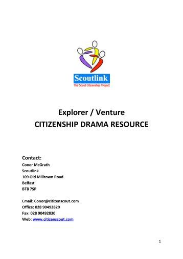 Explorer Scout Resource