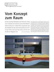 Vom Konzept zum Raum - Architektur & Technik