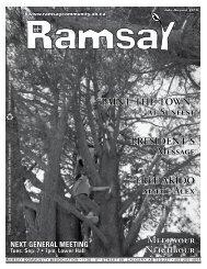 July/Aug 2010 - Ramsay Community Association in Calgary