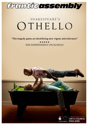 Othello Promoters Pack 2014 - Frantic Assembly