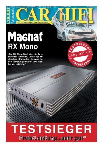 RX Mono - Magnat